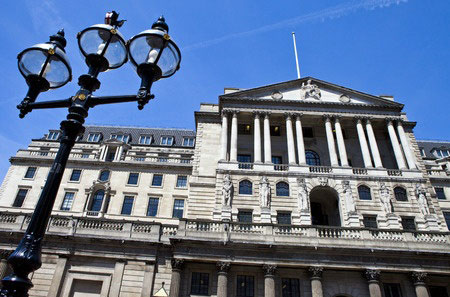 bank of England, the British central bank.